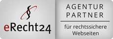 eRecht24 Agentur Partner für rechtssichere Websites